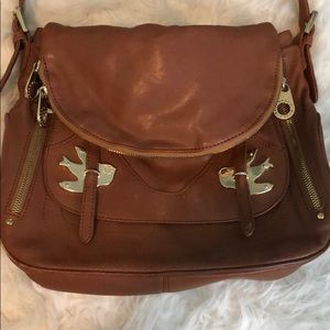 Marc by Marc Jacobs Brown Bird Shoulder Bag